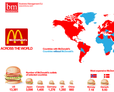 mcdonalds world map
