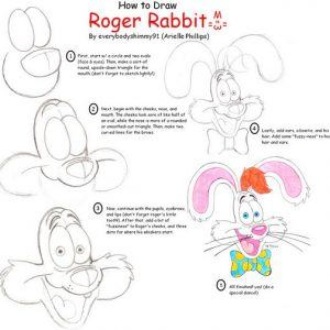 How To Draw Roger Rabbit by everybodyshimmy91 300x300