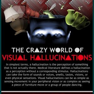 THE CRAZY WORLD OF VISUAL HALLUCINATIONS Infographic1 300x300