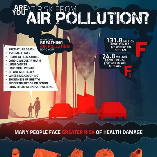 Are You at Risk from Air Pollution - Infographic1