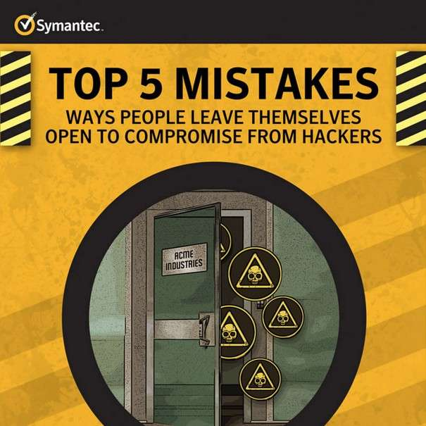 Top 5 Mistakes - That Leave People Open to Compromise - Infographic1