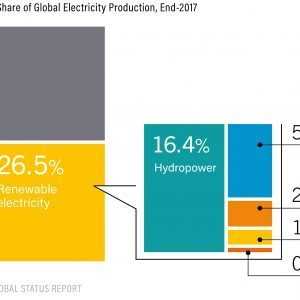Estimated Renewable Energy Share of Global Electricity Production End 2017 300x300 1 300x300